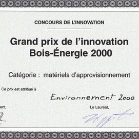 Salon international du Bois Energie en 2000